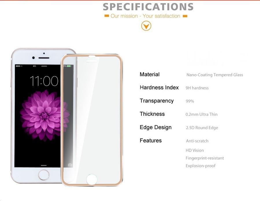 Защита стекла iPhone 7 Magic Glass (полноразмерное)