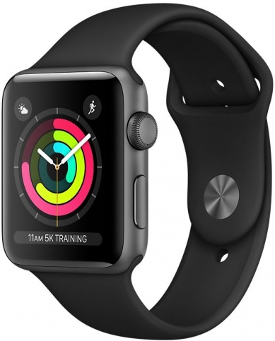 Apple Watch Series 3 42mm GPS Black